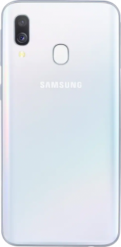 Galaxy A40 64GB White (Back)