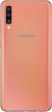 Galaxy A70 128GB Coral  (Back)