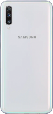 Galaxy A70 128GB White (Back)