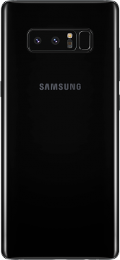 Galaxy Note 8 Black (Back)