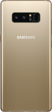 Galaxy Note 8 Gold (Back)