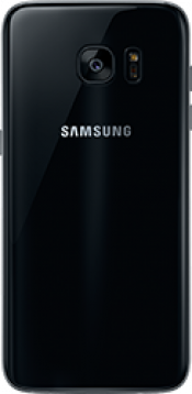 Galaxy S7 edge Black Refurb (Back)