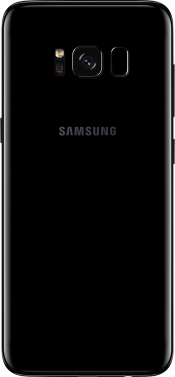 Galaxy S8 Black Refurbished (Back)