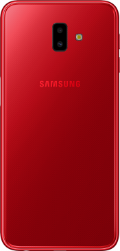 Galaxy J6 Plus 32GB Red (Side)