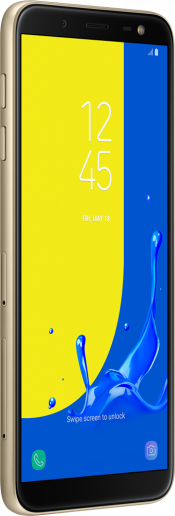 Galaxy J6 2018 Gold (Side)
