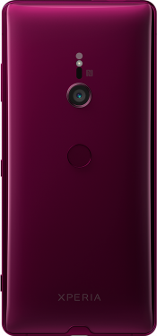 Xperia XZ3 Red (Side)