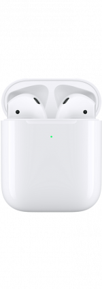 AirPods 2nd Generation with Wireless Charging Case White