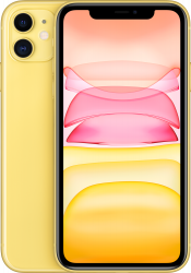 iPhone 11 128GB Yellow Refurbished (Front)
