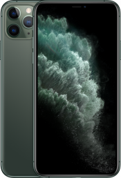 iPhone 11 Pro Max 512GB Midnight Green (Front)