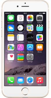 iPhone 6 128GB Gold (Front)