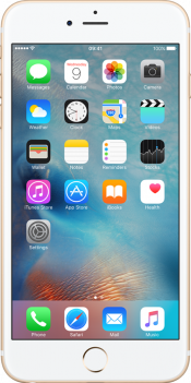 iPhone 6s Plus 128GB Gold (Front)