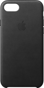 iPhone 7 and 8 Black Leather Case