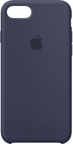 iPhone 7 and 8 Leather Case Midnight Blue