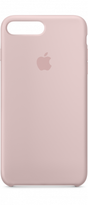 iPhone 7 and 8 Silicone Case Pink Sand