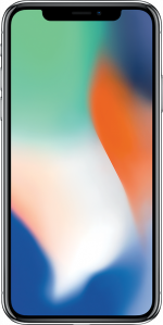 iPhone X 64GB Silver Refurbished
