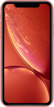 iPhone XR 128GB Coral (Front)