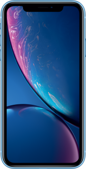 iPhone XR 64GB Blue Refurbished (Front)