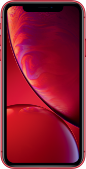 iPhone XR 64GB Red Refurbished (Front)