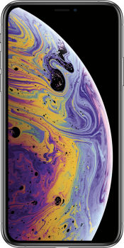 iPhone XS 64GB Silver Refurbished (Front)