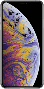 iPhone XS Max 512GB Silver (Front)