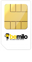 main Bemilo Pay As You Go SIM Pack
