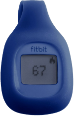 Wireless Activity Tracker Blue