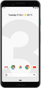 Pixel 3 128GB Clearly White (Front)