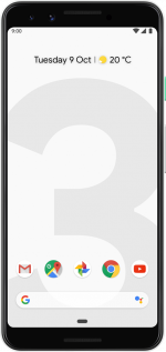 Pixel 3 128GB Clearly White