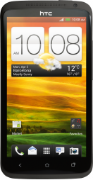 main HTC One X Grey