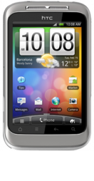 main HTC Wildfire S White Refurbished