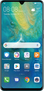 Mate 20 X (5G) 256GB Green EE (Front)