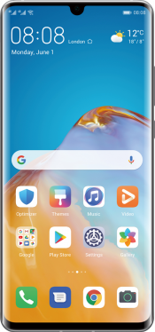 P30 Pro New Edition 256GB Silver Frost (Front)