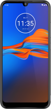 Moto E6 Plus 32GB Grey (Front)