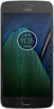 Moto G5 Plus Grey (Front)