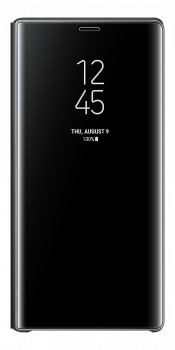 Clear View Cover Note9 Black (Front)