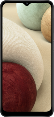 Galaxy A12 64GB Black (Front)