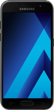 Galaxy A3 2017 Black (Front)