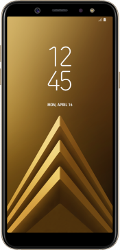 Galaxy A6 2018 Gold (Front)