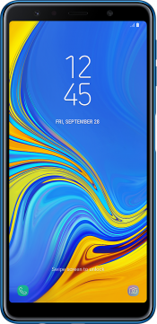 Galaxy A7 64GB Blue (Front)
