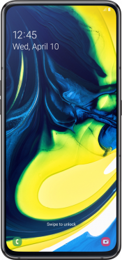 Galaxy A80 128GB Black (Front)