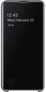 Clear View Cover S10 Black