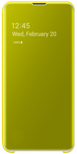 Galaxy Clear View Cover S10e Yellow