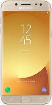 Galaxy J5 2017 Gold (Front)