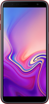 Galaxy J6 Plus 32GB Red (Front)