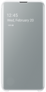 Clear View Cover S10 White