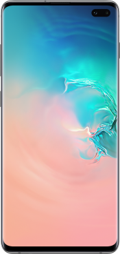 Galaxy S10+ 128GB Prism Silver (Front)