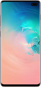 Galaxy S10+ 512GB Ceramic White (Front)