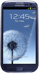 main Samsung Galaxy S3 Blue