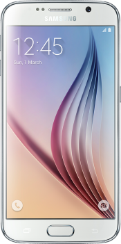 Galaxy S6 128GB White (Front)