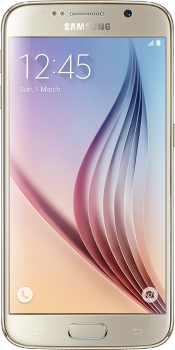 Galaxy S6 64GB Gold (Front)